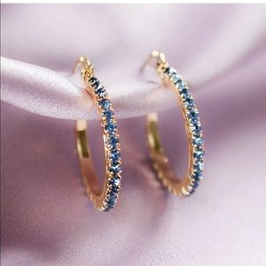Jewelry - New 18k gold plated hoops